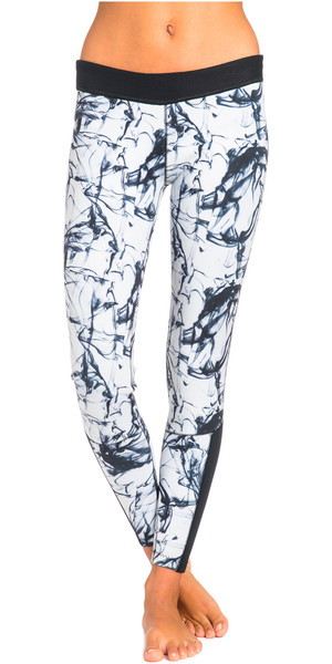 Rip Curl Womens G Bomb 1mm SUP Neoprene Trousers Black / White WPA5BW
