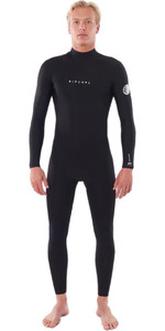 2021 Rip Curl Mens Dawn Patrol Warmth 3/2mm Back Zip Wetsuit Black WSM9DM