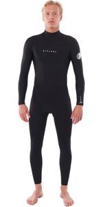 2020 Rip Curl Mens Dawn Patrol Warmth 5/3mm Back Zip Wetsuit Black WSM9FM