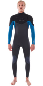 2021 Rip Curl Mens Dawn Patrol Warmth 3/2mm Chest Zip Wetsuit WSM9AM - Blue