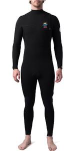 2020 Rip Curl Mens E-Bomb Pro 4/3mm Zip Free Wetsuit Black Searchers WSM8WE