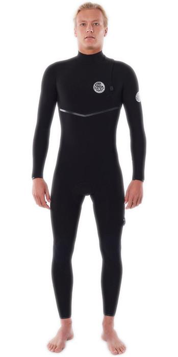 2021 Rip Curl Mens E-Bomb 3/2mm Zip Free Wetsuit WSMYRE - Black