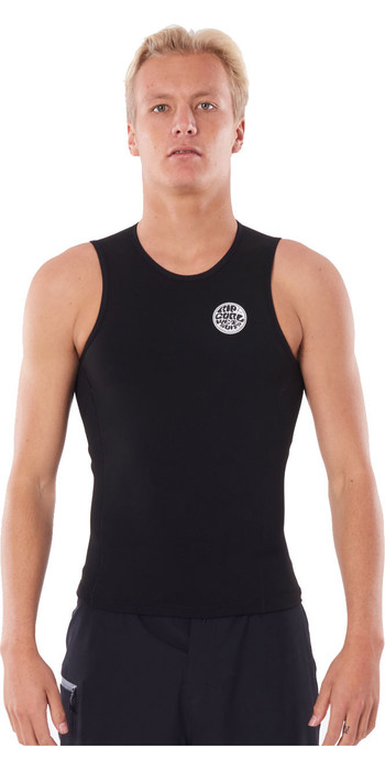 2020 Rip Curl Mens Flashbomb 0.5mm Vest WVEYCM - Black