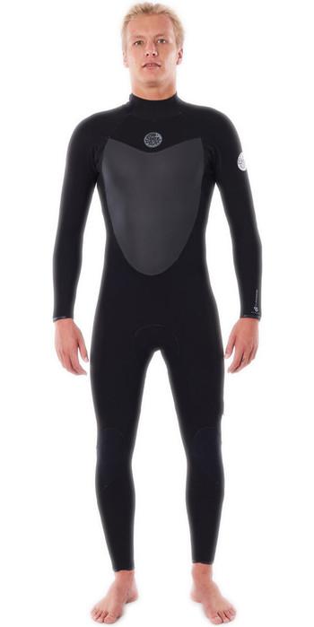 2021 Rip Curl Mens Flashbomb 5/3mm Back Zip Wetsuit WSTYKF - Black