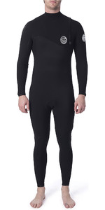 2020 Rip Curl Mens Flashbomb 3/2mm GBS Zipperless Wetsuit Black WSM9CF