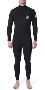 2020 Rip Curl Mens Flashbomb 5/3mm GBS Zip Free Wetsuit Black WSM9FF