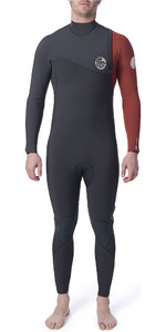 2020 Rip Curl Mens Flashbomb 3/2mm GBS Zip Free Wetsuit Burnt Orange WSM9CF