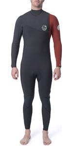 2019 Rip Curl Mens Flashbomb 5/3mm GBS Zip Free Wetsuit Burnt Orange WSM9FF