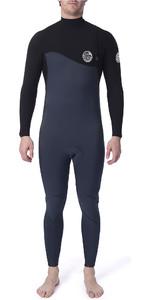 2020 Rip Curl Mens Flashbomb 5/3mm GBS Zip Free Wetsuit Slate WSM9FF