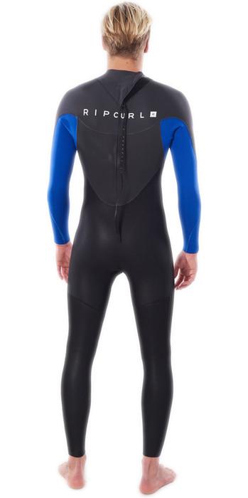 2021 Rip Curl Mens Omega 5/3mm Back Zip Wetsuit WSM8MM - Blue