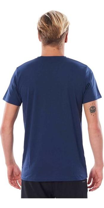 2020 Rip Curl Mens Searchers UV T-Shirt WLYY4M - Navy