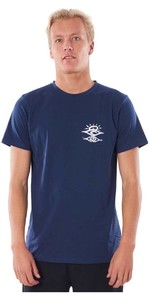 2020 Rip Curl Mens Searchers UV T-Shirt WLYY4M - Navy