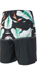 "2018 Rip Curl Mirage Black Beach 18"" Boardshorts Black / Blue CBOGN4"