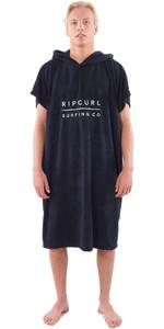 2020 Rip Curl Mix Up Change Robe Poncho CTWAH9 - Black