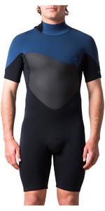 2018 Rip Curl Omega 1.5mm Back Zip Shorty Wetsuit Navy WSP7CM