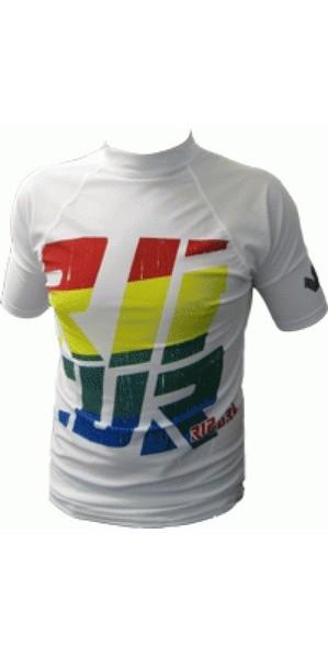 Rip Curl Rainbow 80's Kids SS Rash Vest 08 W06635