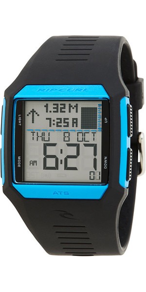 2018 Rip Curl Rifles Tide Surf Watch Blue / Black A1119