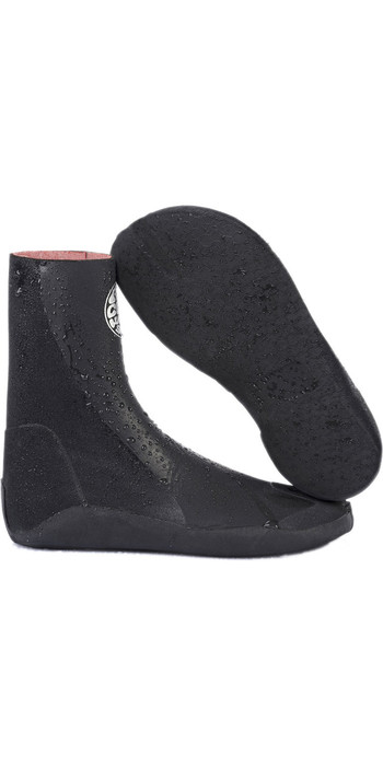 2020 Rip Curl Rubber Soul Plus 5mm Split Toe Boots WBOYNF - Black