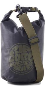 2021 Rip Curl Surf Series 5L Dry Barrel Bag BUTSS5 - Black
