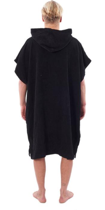 2021 Rip Curl Wet As Change Robe Poncho CTWCE1 - Black