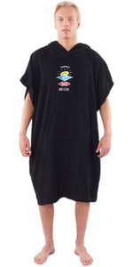 2020 Rip Curl Wet As Change Robe Poncho CTWCE1 - Washed Black