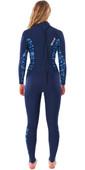 2021 Rip Curl Womens Dawn Patrol 3/2mm Back Zip Wetsuit WSM9NS - Mid Blue