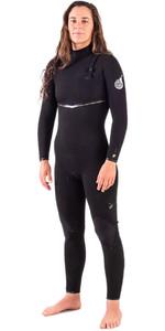 2020 Rip Curl Womens E-Bomb 3/2mm Ltd Edition E7 Zip Free Wetsuit WSMYTG - Black