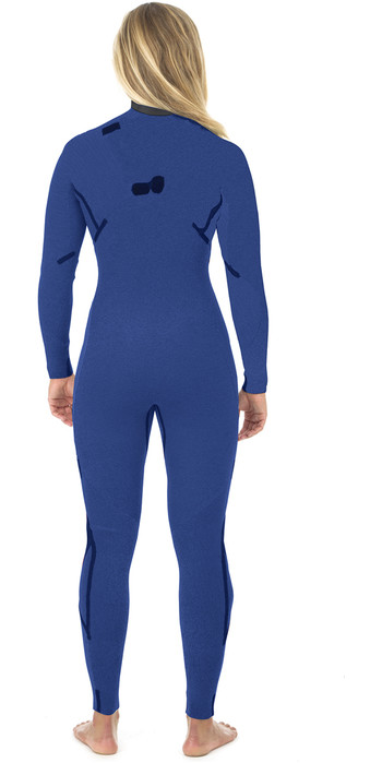 2019 Rip Curl Womens G Bomb 5/3mm Zip Free Wetsuit BLACK WSM8JG