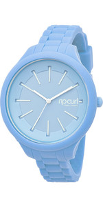 2019 Rip Curl Womens Horizon Silicone Surf Watch Baby Blue A2803G