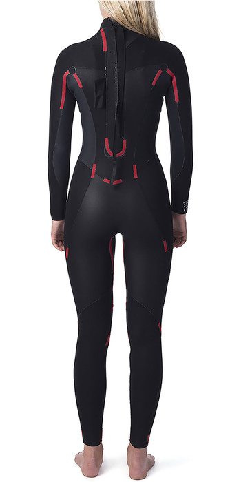2020 Rip Curl Womens Omega 3/2mm Back Zip GBS Wetsuit WSM4LW Black