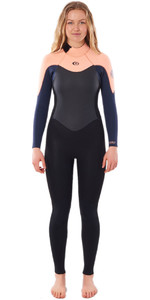 2021 Rip Curl Womens Omega 5/3mm Back Zip Wetsuit WSM9UW - Peach