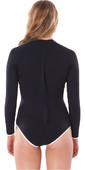 2021 Rip Curl Womens Premium Surf Uv Long Sleeve Surf Suit WLYYXW - Black