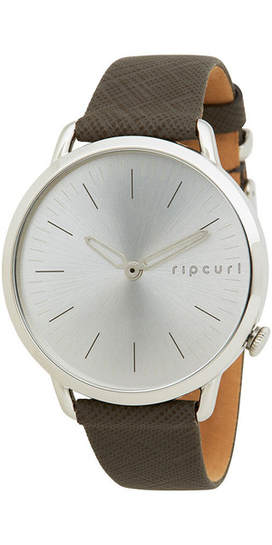 2018 Rip Curl Womens Super Slim Leather Watch Taupe A3007G
