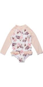 2021 Ripcurl Toddler Longt Sleeve UV Sun Suit WLYYEF - Pink