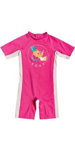 2020 Roxy Girls UV50+ Spring Suit ERLWR03138 - Pink Flambe