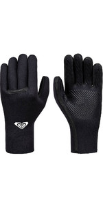 2020 Roxy Syncro Plus 3mm Liquid Flex Seal Neoprene Gloves Back ERJHN03150