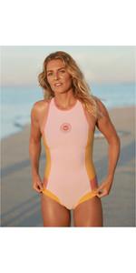2020 Roxy Womens 1mm Popsurf Pastel Bikini Shorty Wetsuit ERJW603016 - Terracotta