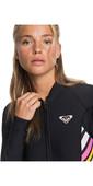 2019 Roxy Womens POP Surf 1mm Neoprene Jacket Black ERJW803018