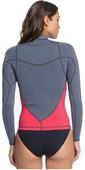 2020 Roxy Womens Syncro 1mm Long Sleeve Jacket ERJW803008 - Deep Grey / Scarlet