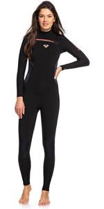 2020 Roxy Womens Syncro 3/2mm Chest Zip Wetsuit Black / Gunmetal ERJW103025