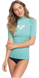 2020 Roxy Womens Whole Hearted Short Sleeve Rash Vest ERJWR03409 - Canton