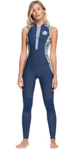 2021 Roxy X Liberty Womens Marine Bloom 1.5mm Long Jane Wetsuit ERJW703011 - Dark Navy