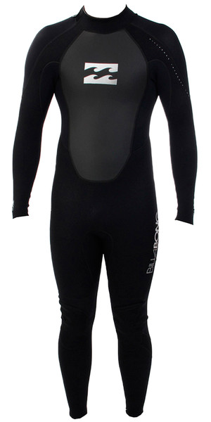 2018 Billabong Toddler Intruder 3/2mm Wetsuit BLACK S43B05