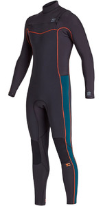 2020 Billabong Mens Furnace Revolution 5/4mm Chest Zip Wetsuit S45M50 - Antique Black