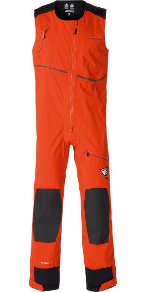 Musto LPX Dynamic Stretch Salopettes in FIRE ORANGE SL0070