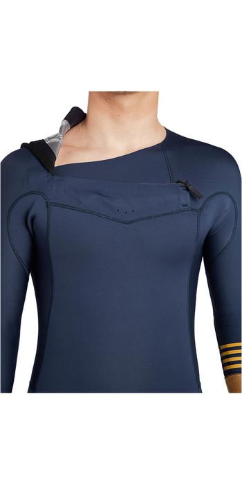 Billabong Revolution Tribong 3/2mm Chest Zip Wetsuit SLATE BLUE F43M16