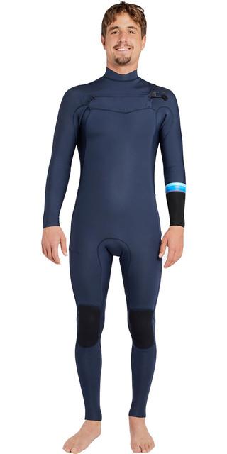 2018 Billabong Revolution Dbah 3/2mm Chest Zip Wetsuit Slate H43m12 Picture