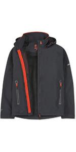 2019 Musto Mens Sardinia BR1 Jacket Black / Fire Orange SMJK057