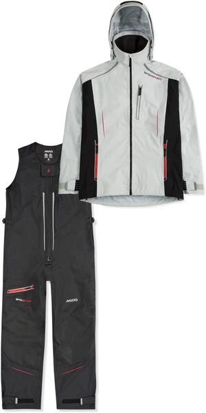 2019 Musto Mens BR2 Sport Jacket SMJK084 & Salopettes SMTR049 Combi Set Platinum / Black
