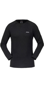 2021 Musto Merino Base Layer Long Sleeve T-Shirt Black SMTH027